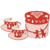 Christmas Heart Red ohne Box!